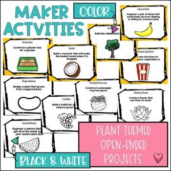 STEM Makerspace Activities About Plants