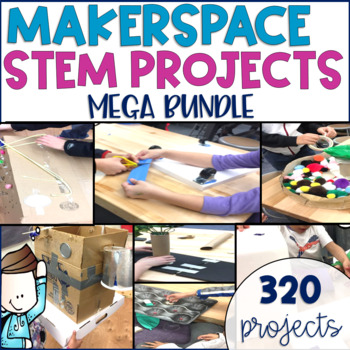 STEM Makerspace Activities MEGA GROWING BUNDLE {All Units}