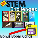 STEM Activities (20 Challenges) Pack 1 - with Bonus Boom cards
