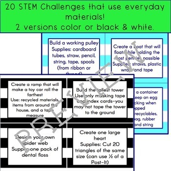 STEM Activities with Everyday Materials
