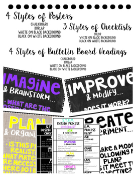 STEM Checklist and Bulletin Board Kit