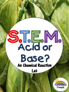 STEM Chemical Change or Chemical Reaction Acid Base Inquiry Lab - NGSS Aligned