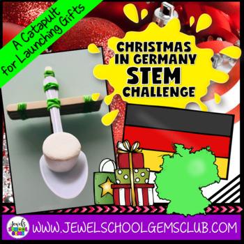 STEM Christmas Around the World Germany (Christmas STEM Challenge)