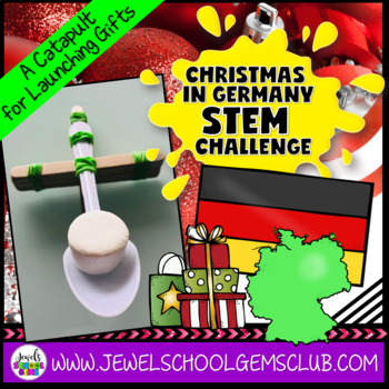 December STEM Christmas Around the World Germany (Christmas STEM Challenge)