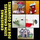 Christmas Around the World STEM Activities BUNDLE (December STEM Projects)
