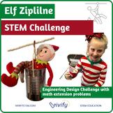 STEM Christmas Challenge: Elf on the Shelf Zip Line Adventure