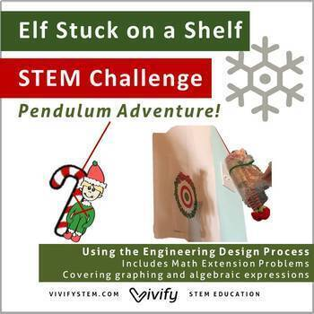 Christmas Challenge.Stem Christmas Challenge Elf Stuck On The Shelf Pendulum