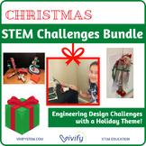 STEM Christmas Challenges: Elf Stuck on the Shelf Bundle