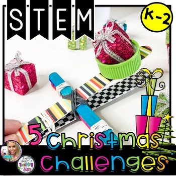 STEM Christmas Challenges K-2