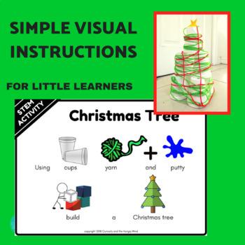 STEM Christmas Tree Challenge