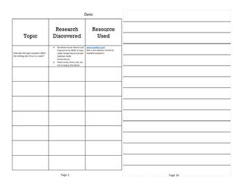 STEM Class Project Booklet