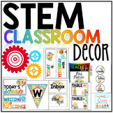 STEM Classroom Decor | STEM labels | STEM Binders | STEAM Posters