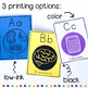 STEM Classroom Decor: ABCs of STEAM Alphabet Posters with Print Lettering