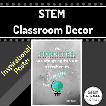 STEM Classroom Poster (Petroski Quote)