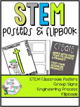 STEM Classroom Posters and Flipbook