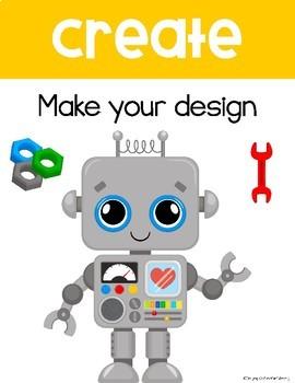 STEM Classroom Posters (engineering design process)