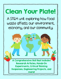 STEM: Food Waste and the Environment NGSS