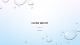STEM Clean water project