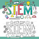 STEM Clip Art – Letters (Science, Tech, Engineering, Math)