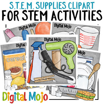 STEM Clipart Bundle