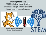 STEM Coding with Scratch: Science - Energy Controller