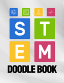 STEM Coloring Book Worksheets For Future Engineers, No Prep