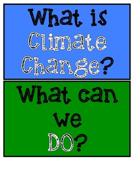 STEM: Combatting Climate Change CCSS/NGSS