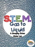 STEM Condensation States of Matter Inquiry Lab - NGSS Aligned