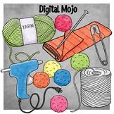 STEM Craft Supplies Clipart