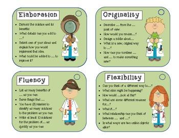 STEM Creative Thinking Skills Cards