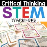 STEM Critical Thinking Warm-ups FREE