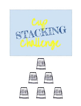 STEM Cup Stacking Challenge