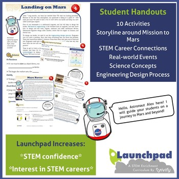 Mission to Mars: 10 Engineering STEM Activities (Complete STEM Curriculum)