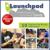Mission to Mars: 10 Engineering STEM Activities (Middle School STEM Curriculum)