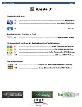 STEM Curriculum A Holistic Approach 6th 7th 8th