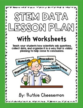 STEM Data Collection Lesson with worksheet