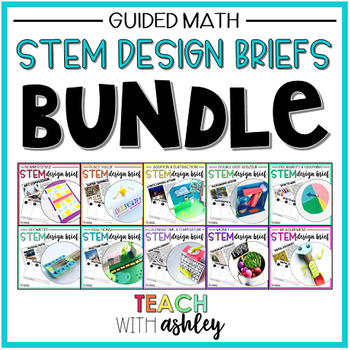 BUNDLE Second Grade Guided Math STEM Challenges