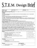 STEM Design Brief - Martin Luther King