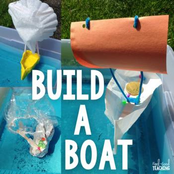 STEM Design Challenge: Build a Boat