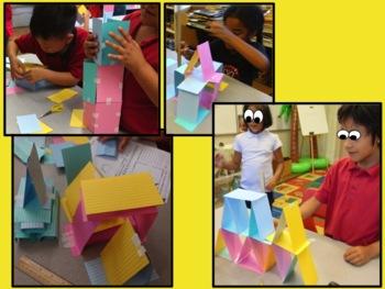 STEM Design Challenge: Card Tower