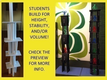 Card Tower STEM Challenge Mini Bundle