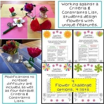 STEM Challenge: Flower Frenzy