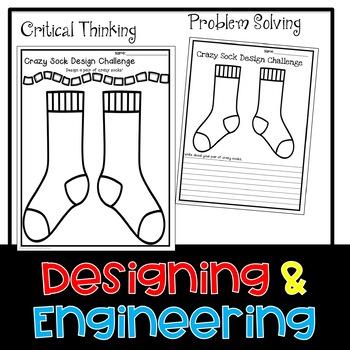 STEM Design Crazy Socks Challenge