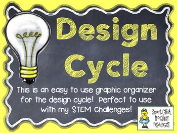 STEM Design Cycle ~ FREE Graphic Organizer