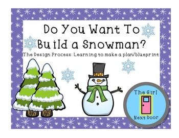 STEM Design Process- Planning-Do you Want to Build a Snowman?
