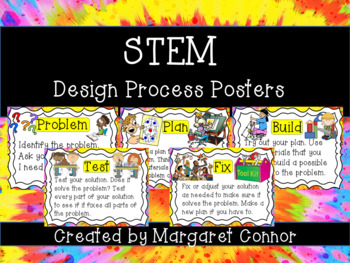 STEM Design Process Posters