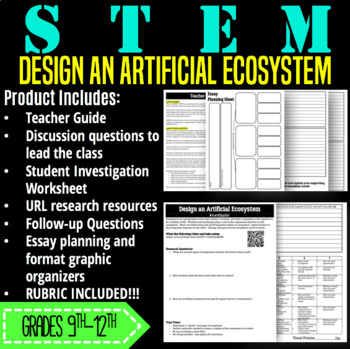 STEM Activity-Design an Artificial Ecosystem