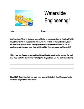 STEM-Designing a Water Slide