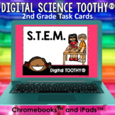 STEM Digital Science Toothy® Task Cards | Distance Learning Games