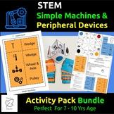 Homeschool STEM/Activity Bundle, Simple Machines, Peripher